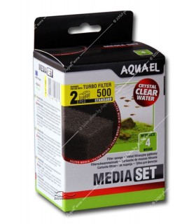 Aquael Turbofilter 500 Media Set Standard (2 db szűrőszivacs)