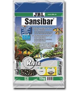 JBL Sansibar RIVER 10 kg (természetes akvárium talaj - durva szemű)