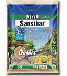 JBL Sansibar ORANGE 5 kg (narancssárga akvárium talaj)