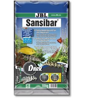 JBL Sansibar DARK (BLACK) 10 kg (természetes akvárium talaj - fekete)