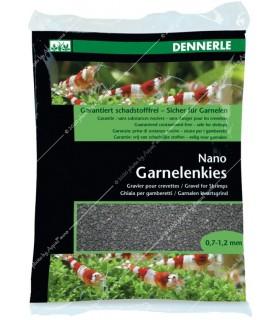 Dennerle Nano garnéla aljzat - Sulawesi, fekete - 2 kg