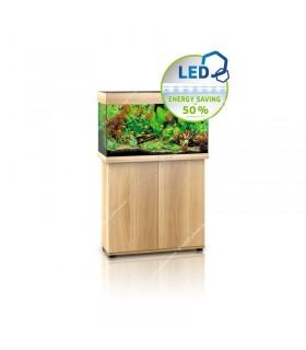 Juwel Rio 125 LED akvárium szett - SBX Rio 125 ajtós bútorral (világos fa)