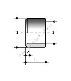 PVC szűkítő 63/50