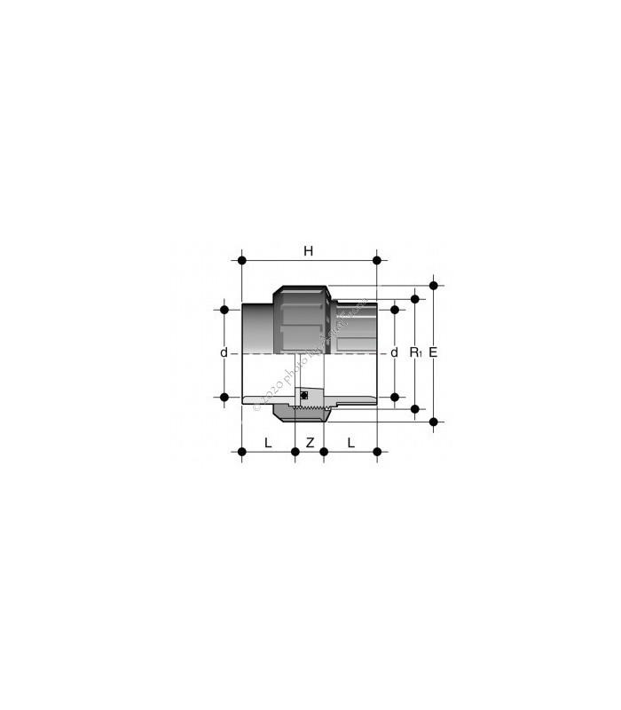 PVC hollander, 40-mm-es csőhöz