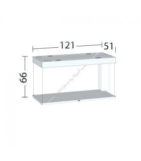 Juwel Rio 350 LED akvárium szett (fehér) - bútor nélkül