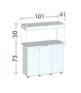 Juwel Rio 180 LED akvárium szett - SBX Rio 180 ajtós bútorral (fekete)