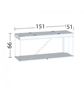 Juwel Rio 450 LED akvárium szett (fekete) - bútor nélkül