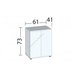 Juwel bútor SBX Lido 120 (sötét fa)