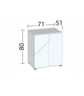 Juwel bútor SBX Lido 200 (sötét fa)