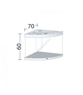Juwel Trigon 190 LED akvárium szett (fekete) - bútor nélkül