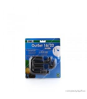JBL OutSet 16/22 Wide CristalProfi 1500/1501/1502 külső szűrőhöz (széles, lapított végű)