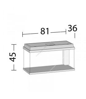 Juwel Primo 110 LED akvárium szett (fekete) - bútor nélkül