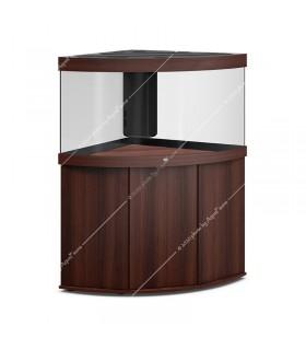 Juwel Trigon 190 LED akvárium szett - SBX Trigon 190 ajtós bútorral (sötét fa)