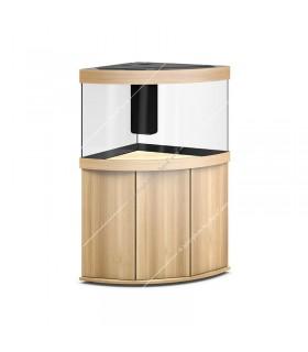 Juwel Trigon 350 LED akvárium szett - SBX Trigon 350 ajtós bútorral (világos fa)