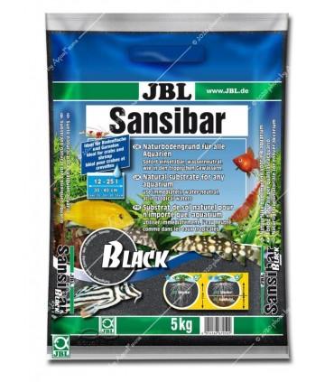 JBL Sansibar DARK (BLACK) 5 kg - természetes akvárium talaj - fekete