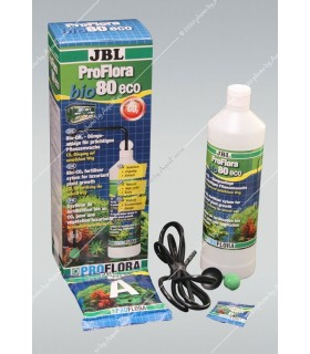 JBL ProFlora Bio 80 ECO 2 - többkomponensű CO2 szett