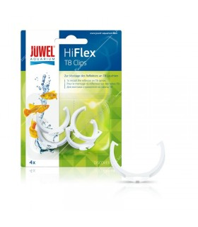 Juwel HiFlex reflektor tartó clips T8 fénycsövekhez (4 db)