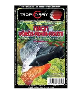 TropiCarry Tercet - 100 g (Vörös-, Fehér, Fekete szúnyoglárva)
