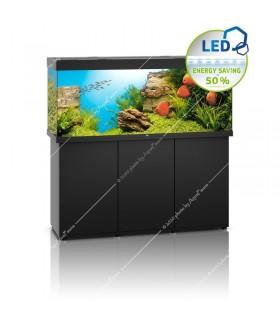 Juwel Rio 450 LED akvárium szett - SBX Rio 450 ajtós bútorral (fekete)