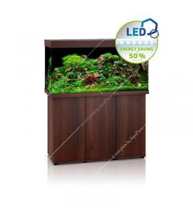 Juwel Rio 350 LED akvárium szett - SBX Rio 350 ajtós bútorral (sötét fa)