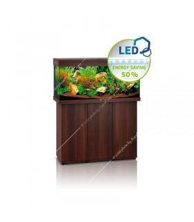 Juwel Rio 180 LED akvárium szett - SBX Rio 180 ajtós bútorral (sötét fa)
