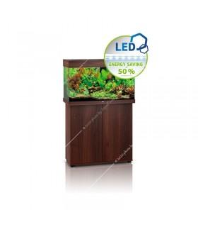 Juwel Rio 125 LED akvárium szett - SBX Rio 125 ajtós bútorral (sötét fa)