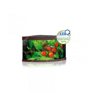Juwel Trigon 350 LED akvárium szett (sötét fa) - bútor nélkül