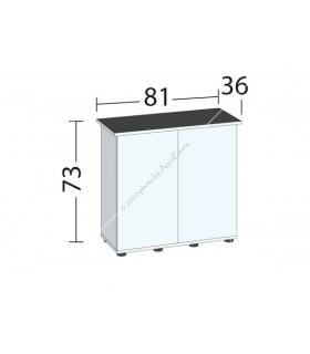 Juwel bútor SBX Rio 125 (sötét fa)
