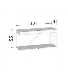 Juwel Rio 240 LED akvárium szett (fekete) - bútor nélkül