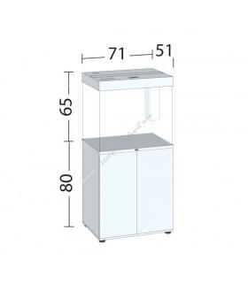 Juwel Lido 200 LED akvárium szett - SBX Lido 200 ajtós bútorral (világos fa)