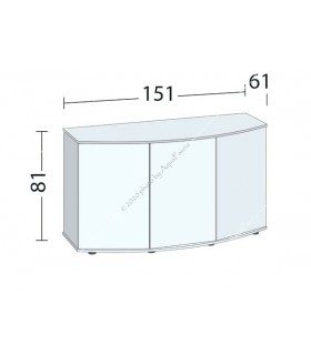 Juwel bútor SBX Vision 450 (sötét fa)