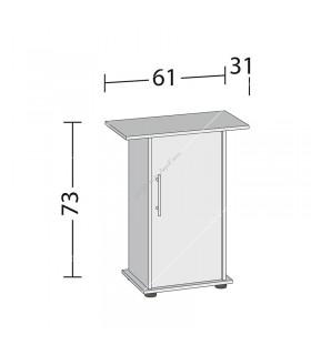 Juwel bútor SB 60/70 fehér (Primo 60/70)