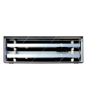 Diversa alumínium tető 100 x 40 - 4 x 30W T8