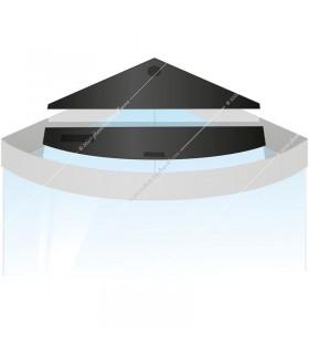 Juwel Flap Set Trigon 190 - világítás fedél szett