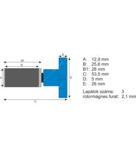 Eheim Classic 2211 Rotor (50Hz) (7632100)