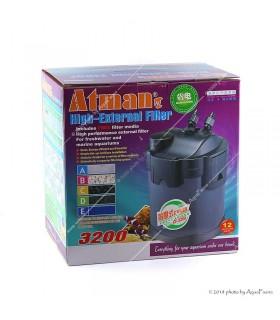 Atman CF-3200 külső szűrő - szűrőtöltet nélkül