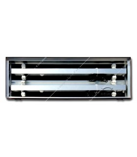 Diversa alumínium tető 160 x 60 - 4 x 58W T8