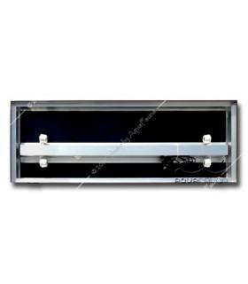 Diversa alumínium tető 80 x 40 - 2 x 18W T8