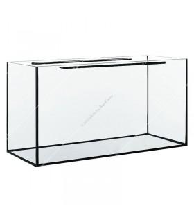 140 literes akvárium, 80x35x50 cm (8 mm)