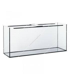 200 literes akvárium, 100X40X50 cm (8 mm) - gépi élcsiszolt