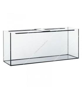 240 literes akvárium, 120x40x50 cm (8 mm) - gépi élcsiszolt