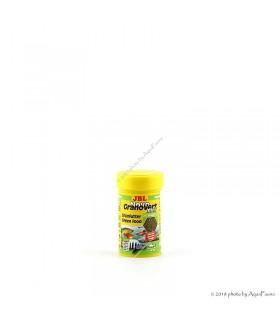 JBL Novo GranoVert mini 100 ml (utántöltő) - apró szemcseméretű granulált eleség növényevő halaknak