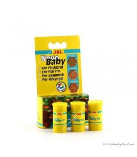 JBL NovoBaby 3 x 10 ml - ivadéknevelő haltápsorozat