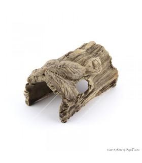 Kerámia fél fatörzs (levélmintás) XS (12 cm)