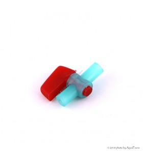Levegő szabályozó csap (zöld-piros)