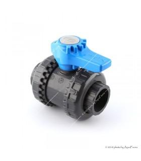 PVC hollanderes gömbcsap, 32 mm-s csőhöz