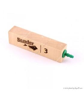 Sander faporlasztó 3 - 9,5 x 2,5 x 2 cm