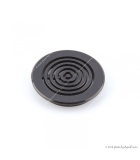 Szűrőrács, 40 mm - fekete