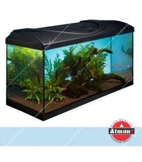 Fauna Clean-EX akvárium szett (Atman) - 200 liter - gépi élcsiszolt akváriummal