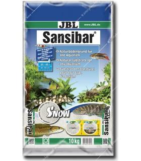 JBL Sansibar SNOW 10 kg - akvárium talaj - hófehér